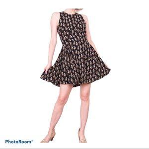 H&M Skater Dress Pelicans size 6
